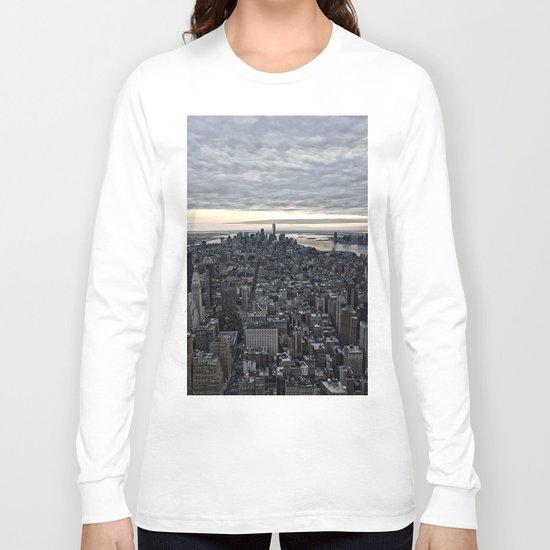 New York skyline x Long Sleeve T-shirt