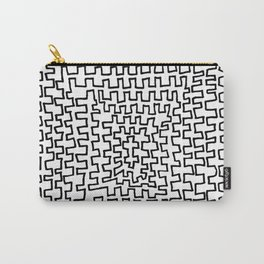 Square Points Carry-All Pouch