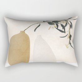 Couple Of Vases Rectangular Pillow