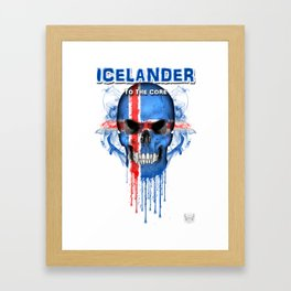To The Core Collection: Iceland Framed Art Print