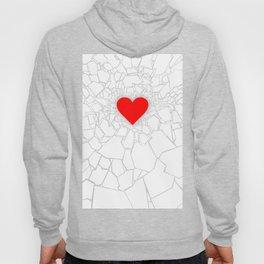 Heartbreaker III White Hoody