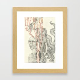Torment Framed Art Print