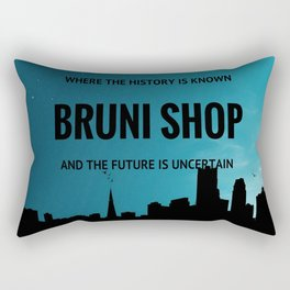 BS art Rectangular Pillow