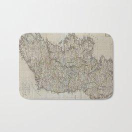 Vintage Map of Ireland (1804) Bath Mat