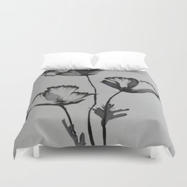 Poppies no. 2 Duvet Cover