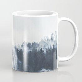 Foggy Forest Calm Landscape Coffee Mug