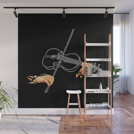 Fiddle Wall Mural
