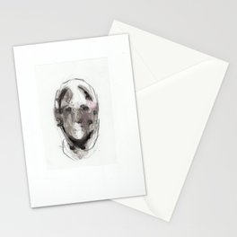 Woman With Head Wound Stationery Cards