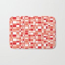 Mod Gingham - Red Bath Mat