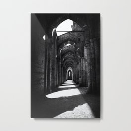 Abbey of San Galgano Metal Print