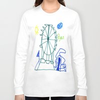 tennessee Long Sleeve T-shirts featuring Tennessee Valley Fair 2011 by Ryan van Gogh