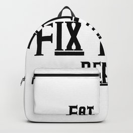 Fix teeth Dental Funny Backpack
