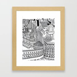 Domes of Buenos Aires Framed Art Print
