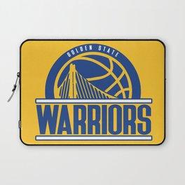Warriors vintage basketball logo Laptop Sleeve