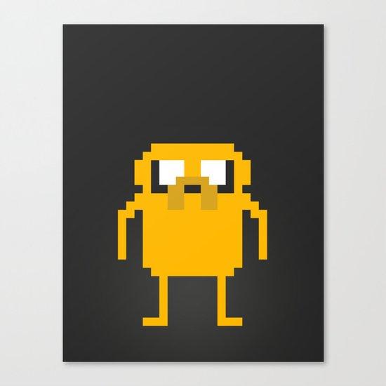 jake pixel Canvas Print