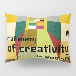 The enemy of creativity Pillow Sham