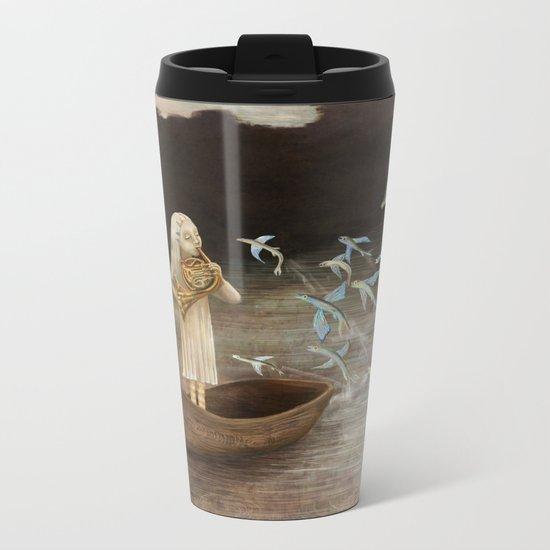 Solo at Dawn Metal Travel Mug