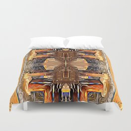 Doorway to Freedom Duvet Cover