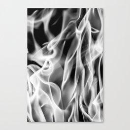 Fire (B&W) Canvas Print