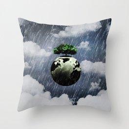 Toon Storm Throw Pillow