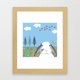 Jokke, The Rabbit Framed Art Print