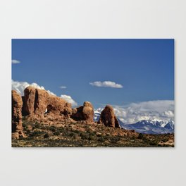 Between Two Worlds - Arches National Park Canvas Print