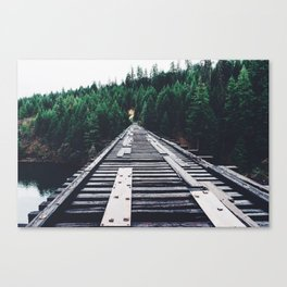 Pnw Bridge Canvas Print