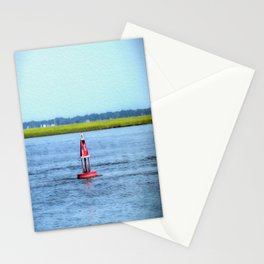 The Little Red Buoy Stationery Cards