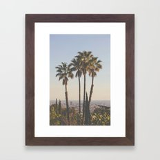 L.A. Framed Art Print