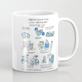 Support Your Independent Bookstore Coffee Mug