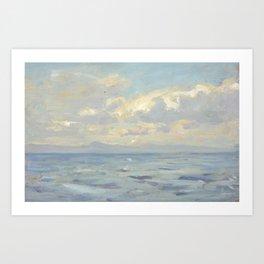 Robert Payton Reid (1859-1945)  West Coast, Scotland Art Print