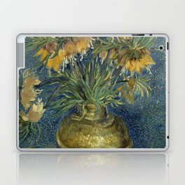 Fritillaries in a Copper Vase by Vincent van Gogh Laptop & iPad Skin