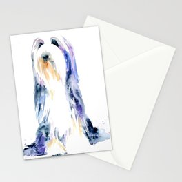 Bearded Collie Stationery Cards