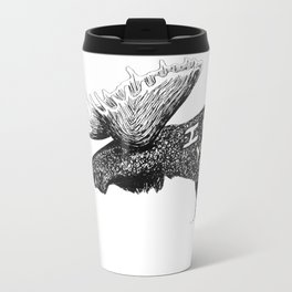 I moose you Metal Travel Mug