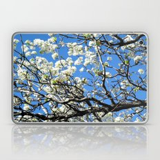 Dogwood in the sky Laptop & iPad Skin