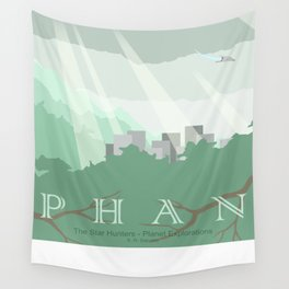 Planet Exploration: Phan Wall Tapestry