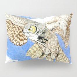 Owl Landing Pillow Sham