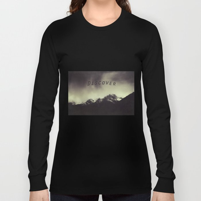 Shadow Mountain - Italian Alps Long Sleeve T-shirt