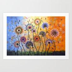 Explosion of Joy Art Print