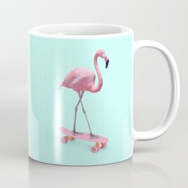 SKATE FLAMINGO Coffee Mug