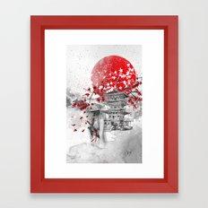 the warrior path Framed Art Print