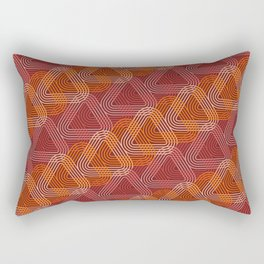 Op Art 104 Rectangular Pillow