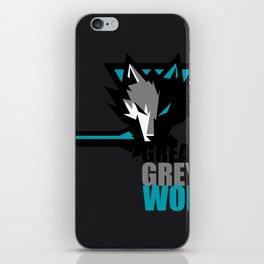 Great Grey Wolf iPhone Skin