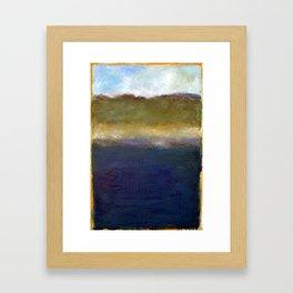 Abstract Dunes ll Framed Art Print