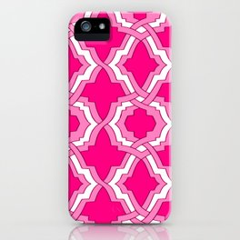 Grille No. 1 -- Magenta iPhone Case