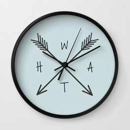 WHAT Compass? Wall Clock