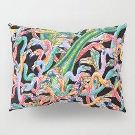Flamencos y diplodocus Pillow Sham