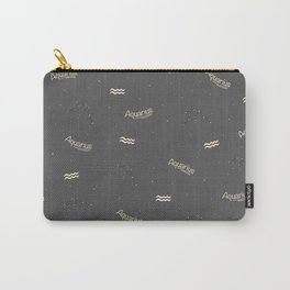 Aquarius Pattern Carry-All Pouch