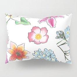 Flower Study Pillow Sham