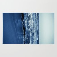 wave Area & Throw Rugs featuring Wave by Michelle McConnell